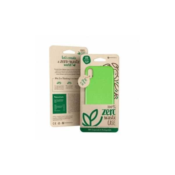 iPhone 11, BIO obal - nulový odpad, Biologicky rozložitelný, Jednofarebný, Zelené