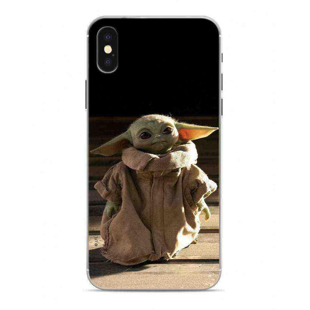 Housse en silicone STAR WARS Star Wars Baby Yoda sur le Huawei P smart 2020 Multicolore